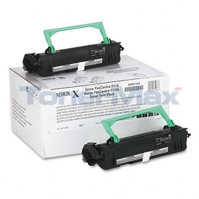 XEROX FAXCENTRE F116 TONER CTG BLACK TWIN PACK